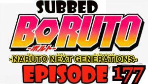 Boruto Episode 177 Subbed English Free Online