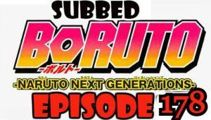 Boruto Episode 178 Subbed English Free Online