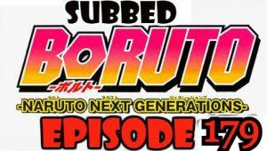Boruto Episode 179 Subbed English Free Online