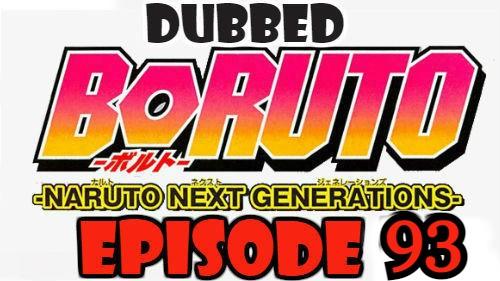 Boruto Episode 93 Dubbed English Free Online