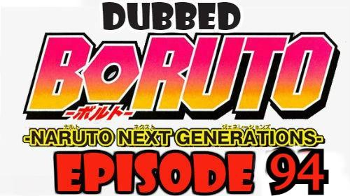 Boruto Episode 94 Dubbed English Free Online