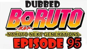 Boruto Episode 95 Dubbed English Free Online