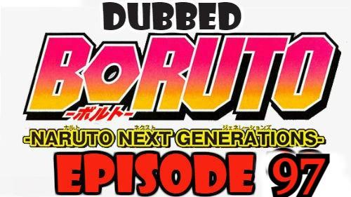 Boruto Episode 97 Dubbed English Free Online
