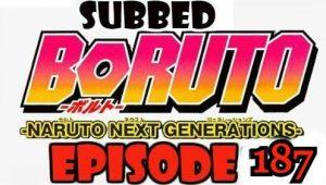 Boruto Episode 187 Subbed English Free Online