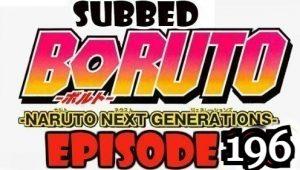 Boruto Episode 196 Subbed English Free Online