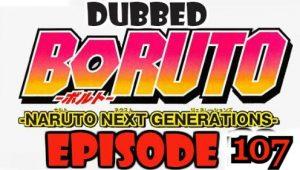 Boruto Episode 107 Dubbed English Free Online