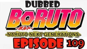 Boruto Episode 109 Dubbed English Free Online