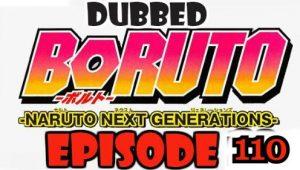 Boruto Episode 110 Dubbed English Free Online