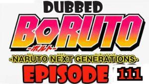 Boruto Episode 111 Dubbed English Free Online