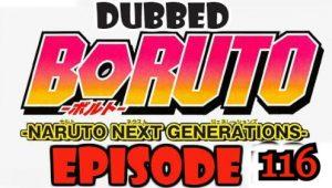 Boruto Episode 116 Dubbed English Free Online