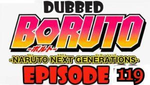 Boruto Episode 119 Dubbed English Free Online