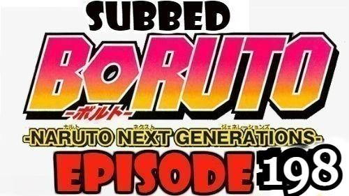 Boruto Episode 198 Subbed English Free Online