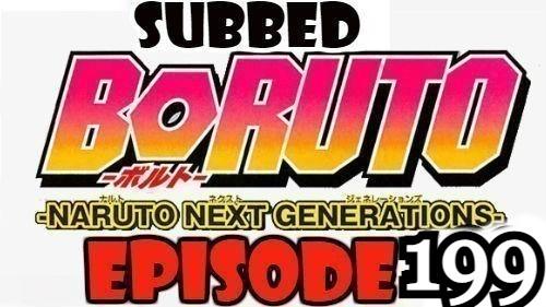Boruto Episode 199 Subbed English Free Online