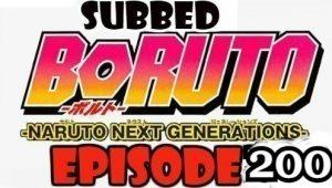 Boruto Episode 200 Subbed English Free Online