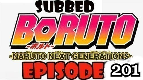 Boruto Episode 201 Subbed English Free Online