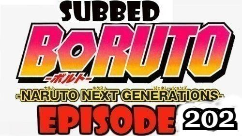 Boruto Episode 202 Subbed English Free Online