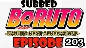 Boruto Episode 203 Subbed English Free Online