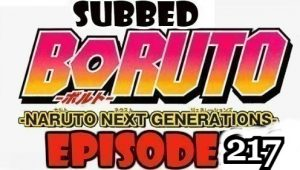 Boruto Episode 217 Subbed English Free Online